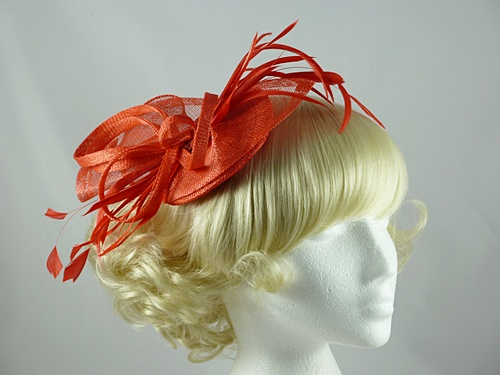 Failsworth Millinery Loops & Feathers Fascinator