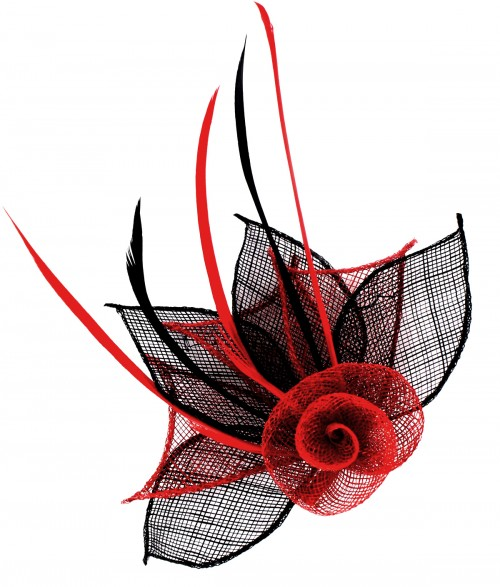 Aurora Collection Two Tone Rose Fascinator