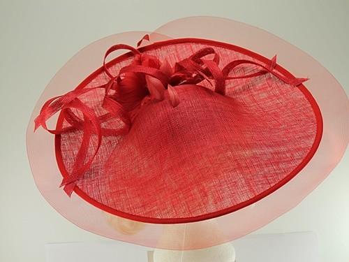 Elegance Collection Saucer Crin Headpiece