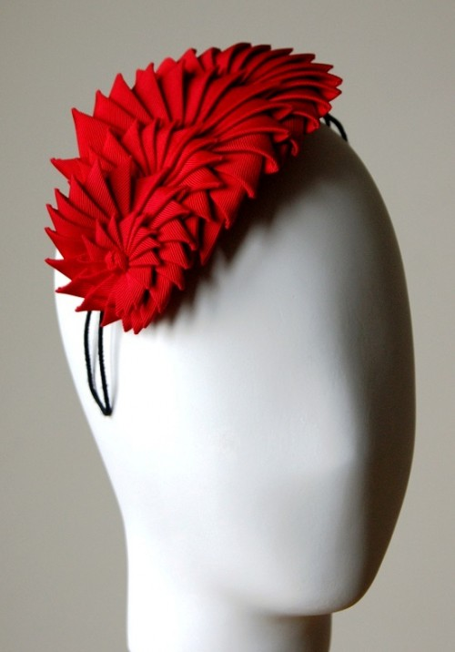 Esther Louise Millinery Graduating Ribbon Headband