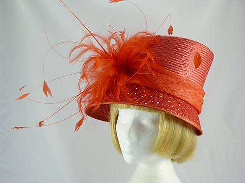 Gwyther Snoxells Jane Wedding hat