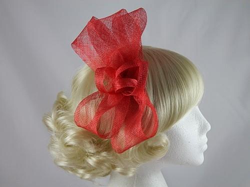 Red Loops Headpiece