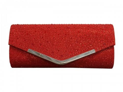 Papaya Fashion Glitter Evening Bag