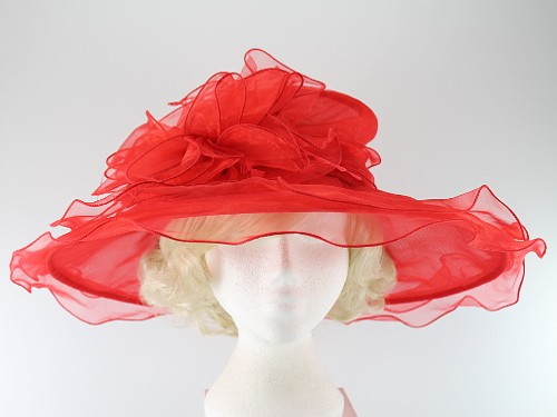 Wide Brim Collapsible Hat