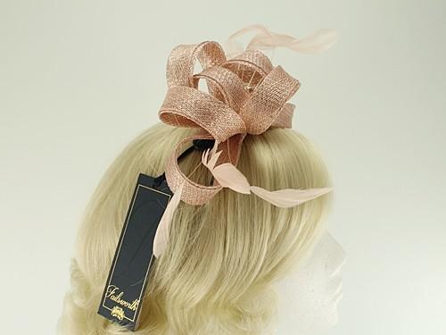 Wedding Hats 4U - Failsworth Millinery Wide Loops Fascinator in Rose ... 96f6856dec3