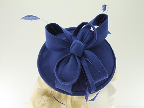 Failsworth Millinery Wool Felt Disc Headpiece