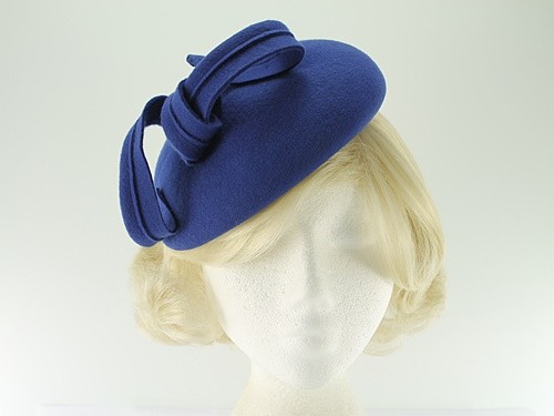 Failsworth Millinery Wool Felt Pillbox Headpiece