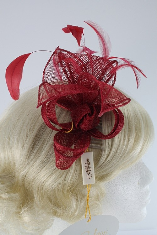 Hawkins Collection Sinamay Leaves Fascinator