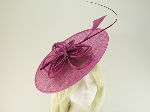 Failsworth Millinery Butterfly Events Disc with Matching Sinamay Bag