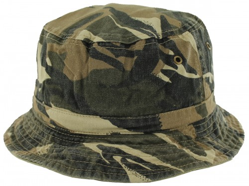 SSP Hats Reversible Camouflage Cotton Sun Hat