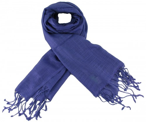 Max and Ellie Luxurious Scarf in Sapphire
