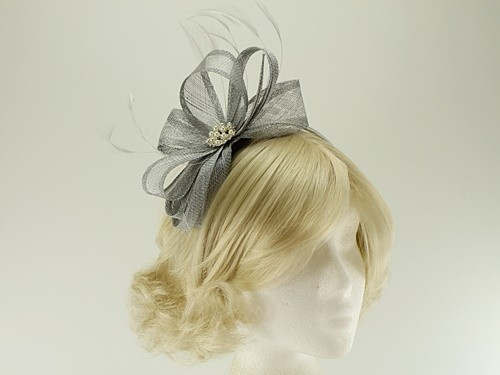 Elegance Collection Sinamay Headpiece Fascinator