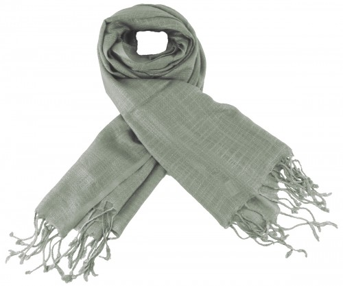 Max and Ellie Luxurious Scarf in Silver