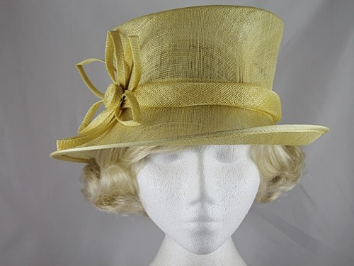Elegance Collection Sinamay Flower Occasion Hat