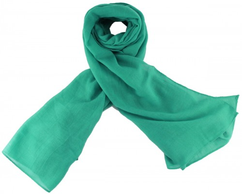 Max and Ellie Fine Woven Scarf in Turquoise