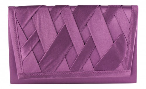 Failsworth Millinery Occasion Bag in Violet