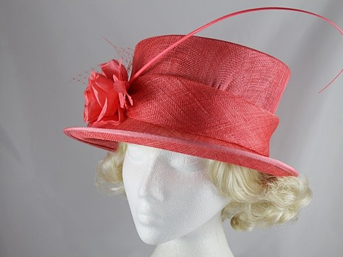 Failsworth Millinery Rose Wedding Hat