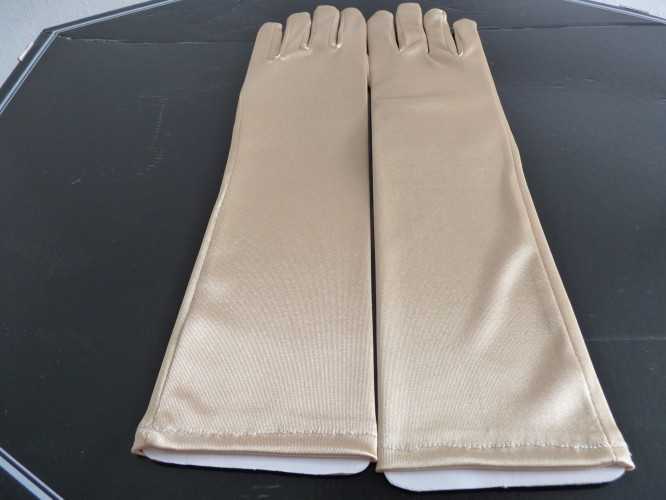 Wedding Gloves Gold