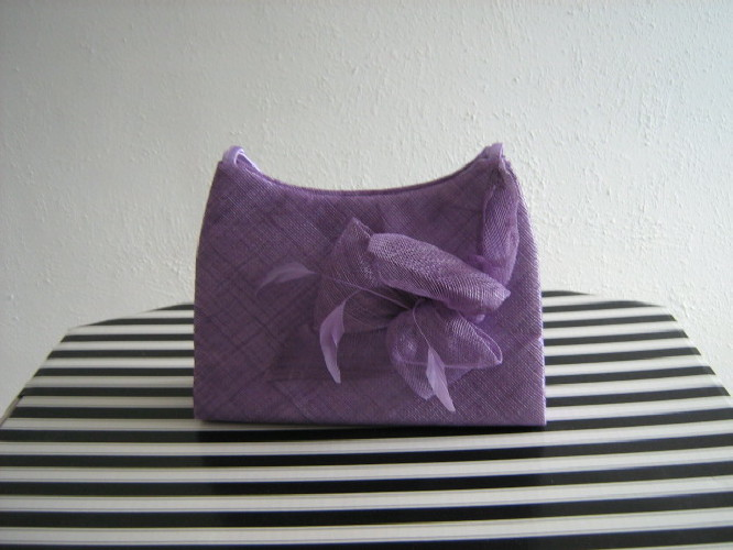 Wedding bag Lavender