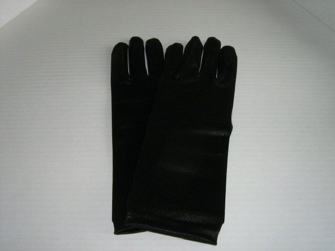Wedding Gloves Black