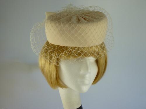 Wedding hat Pale Cappuchino