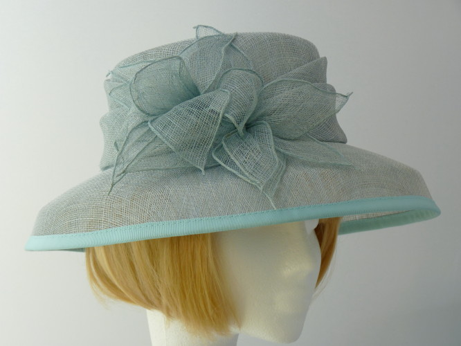 Wedding hat PaleMint Green