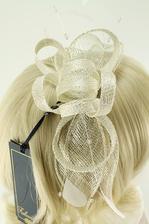 Failsworth Millinery Sinamay Fascinator