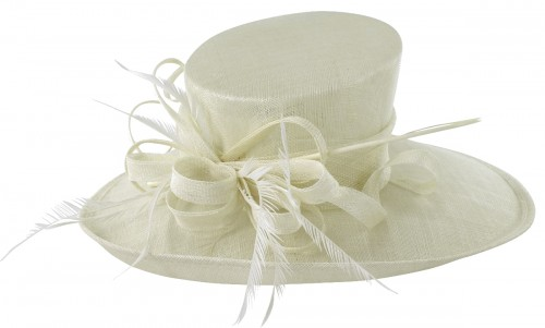 Max and Ellie Events Hat in White
