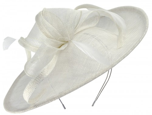 Max and Ellie Occasion Disc in White