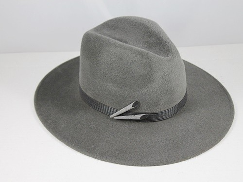 Whiteley Grey Fashion Hat