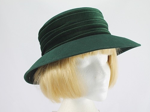 Whiteley Mid Green Formal Hat