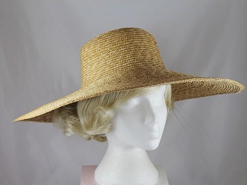Wide Brimmed Straw Hat