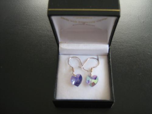 Lavender Blue Swarovski crystal