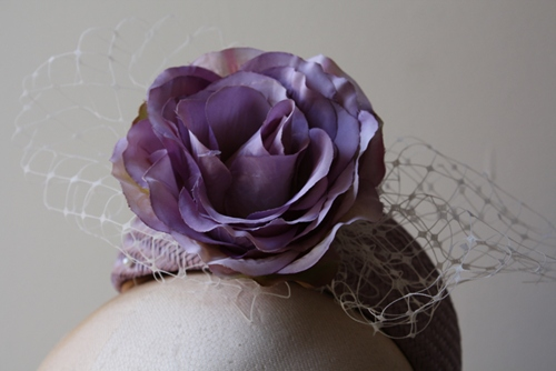Couture by Beth Hirst Lilac Rose Percher