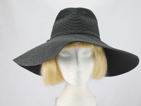 Accessorize Black Beach Hat