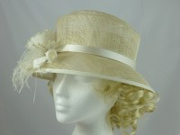 Accessorize Cream Occasion Hat