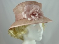Accessorize Pink Wedding Hat