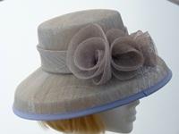 Kangol Ascot hat Grey and Lilac