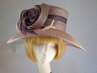 Jacques Vert Ascot hat Lilac and Heather