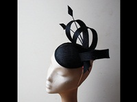 Couture by Beth Hirst Black Arrow Swirls