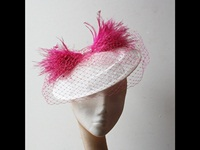 Couture by Beth Hirst Ivory and Pink Saucer