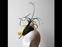 Couture by Beth Hirst Yellow and Black Button