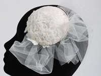 Couture by Beth Hirst Small Lace Beaded Button