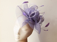 Couture by Beth Hirst Lilac Crin and Feathers