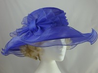 Betmar New York Purple Collapsible Hat