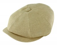 Failsworth Millinery Irish Linen Alfie Cap