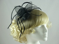 Aurora Collection Large Flower Fascinator