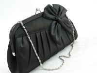 Black Bow Occasion Bag