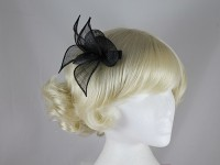 Elegance Collection Small Sinamay Leaves Fascinator