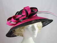 Failsworth Millinery Loops and Quills Ascot Hat
